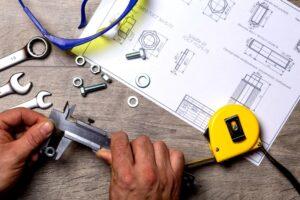 Measurement tools including a tape measure